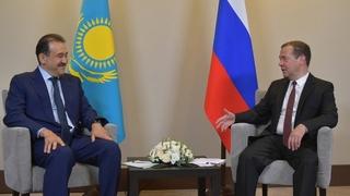 Беседа с Премьер-министром Казахстана Каримом Масимовым