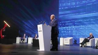 Выступление Михаила Мишустина на главной стратегической сессии «Иннопром-2021» «Гибкое производство: максимальная адаптация»
