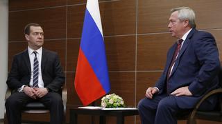 Встреча с губернатором Ростовской области Василием Голубевым