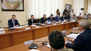 Совместное заседание попечительских советов Южного и Сибирского федеральных университетов