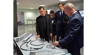 Посещение предприятия объединённой компании «Русал» в Иркутске