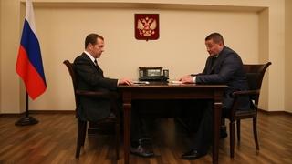 Беседа с губернатором Волгоградской области Андреем Бочаровым