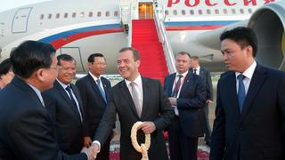 Визит Дмитрия Медведева в Королевство Камбоджа
