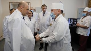 Посещение республиканской больницы Тывы