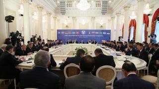 Заседание Совета глав правительств государств – участников Содружества Независимых Государств в широком составе
