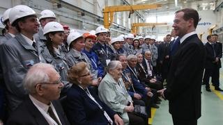 Беседа с рабочими и ветеранами завода АО «Транснефть Нефтяные Насосы»