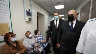 Посещение Чукотской окружной больницы