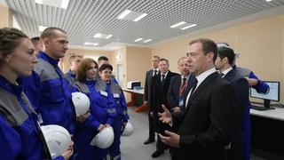 Беседа с работниками Стойленского горно-обогатительного комбината