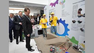 Осмотр проектов Всероссийской робототехнической олимпиады