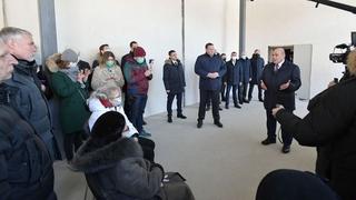 Встреча с пенсионерами и представителями общественных организаций Псковской области