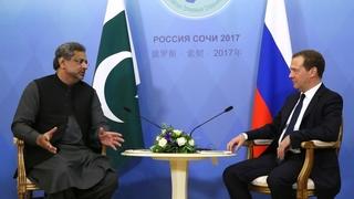 Беседа с Премьер-министром Исламской Республики Пакистан Шахидом Хаканом Аббаси