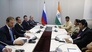 Встреча с государственным министром торговли и промышленности Индии Нирмалой Ситхараман
