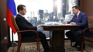 Встреча с губернатором Свердловской области Евгением Куйвашевым