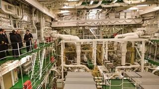 Осмотр ледокола «Арктика»