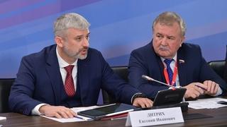 Доклад Евгения Дитриха на совещании о ходе реализации национального проекта «Безопасные и качественные автомобильные дороги»