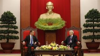 Встреча с Генеральным секретарем Центрального комитета Коммунистической партии Вьетнама, Президентом Вьетнама Нгуен Фу Чонгом
