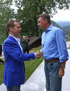 Встреча Дмитрия Медведева с Президентом Словении Борутом Пахором