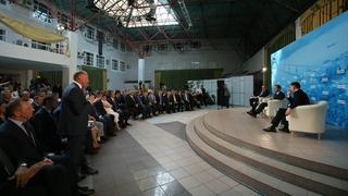 Встреча с представителями бизнес-сообщества и предпринимательской платформы партии «Единая Россия»