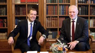 Встреча с Председателем Государственного собрания Словении Миланом Брглезом