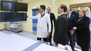 Посещение Республиканской клинической больницы
