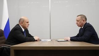 Встреча с губернатором Санкт-Петербурга Александром Бегловым