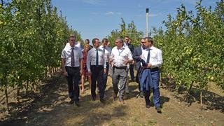 Посещение опытно-производственного хозяйства ЗАО «Центральное» Северо-Кавказского зонального научно-исследовательского института садоводства и виноградарства