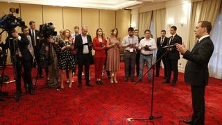Пресс-конференция Дмитрия Медведева по итогам визитов в Папуа - Новую Гвинею и Социалистическую Республику Вьетнам