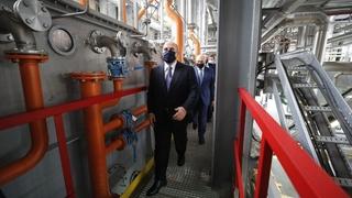 Михаил Мишустин посетил завод АО «Орёлмасло»