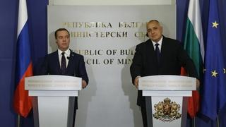 Заявления для прессы Дмитрия Медведева и Бойко Борисова