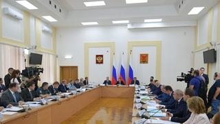 Совещание об основных мерах по социально-экономическому развитию Забайкальского края