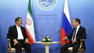 Беседа с Первым вице-президентом Исламской Республики Иран Эсхаком Джахангири
