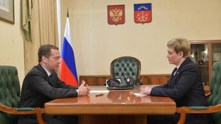 Встреча с губернатором Мурманской области Мариной Ковтун
