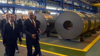 Посещение Магнитогорского металлургического комбината