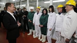 Посещение мясоперерабатывающего предприятия ООО «Тамбовский бекон». Беседа с работниками предприятия