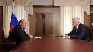 Встреча с губернатором Магаданской области Сергеем Носовым