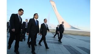 Осмотр спортивных объектов Сочи. С Премьером Государственного cовета КНР Ли Кэцяном