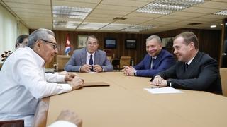 Встреча с Первым секретарём ЦК Коммунистической партии Кубы Раулем Кастро