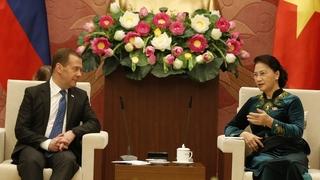 Беседа с Председателем Национального собрания Вьетнама Нгуен Тхи Ким Нган