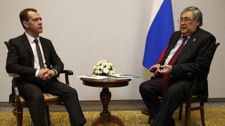 Встреча с губернатором Кемеровской области Аманом Тулеевым