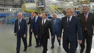 Посещение Иркутского авиационного завода корпорации «Иркут»