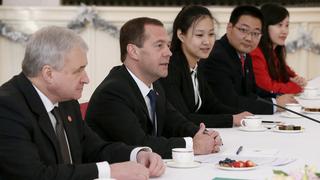 Встреча с представителями китайской молодежи