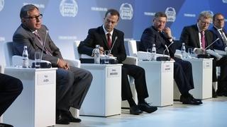 XV Международный инвестиционный форум «Сочи-2016». Выступление члена совета директоров ОА «Альфа-банк», председателя Совета директоров ABH Holdings (Alfa Group) Петра Авена