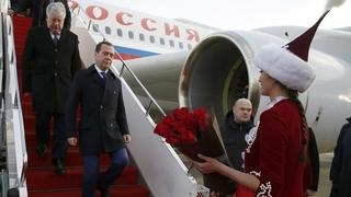 Официальный визит Дмитрия Медведева в Казахстан