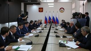Совещание о строительстве новых школ в Северо-Кавказском федеральном округе