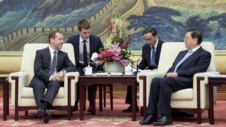 Встреча с Председателем Постоянного комитета Всекитайского собрания народных представителей Чжан Дэцзяном