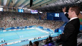 На финальных соревнованиях XVI чемпионата мира по водным видам спорта