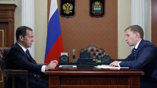Встреча с временно исполняющим обязанности губернатора Амурской области Александром Козловым