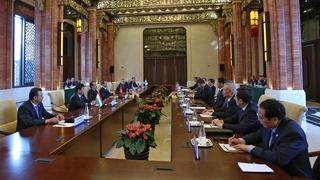Встреча глав правительств государств – членов ШОС с Председателем КНР Си Цзиньпином