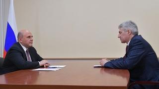 Встреча Михаила Мишустина с главой Республики Карелия Артуром Парфенчиковым