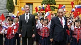 Официальный визит Дмитрия Медведева в Социалистическую Республику Вьетнам